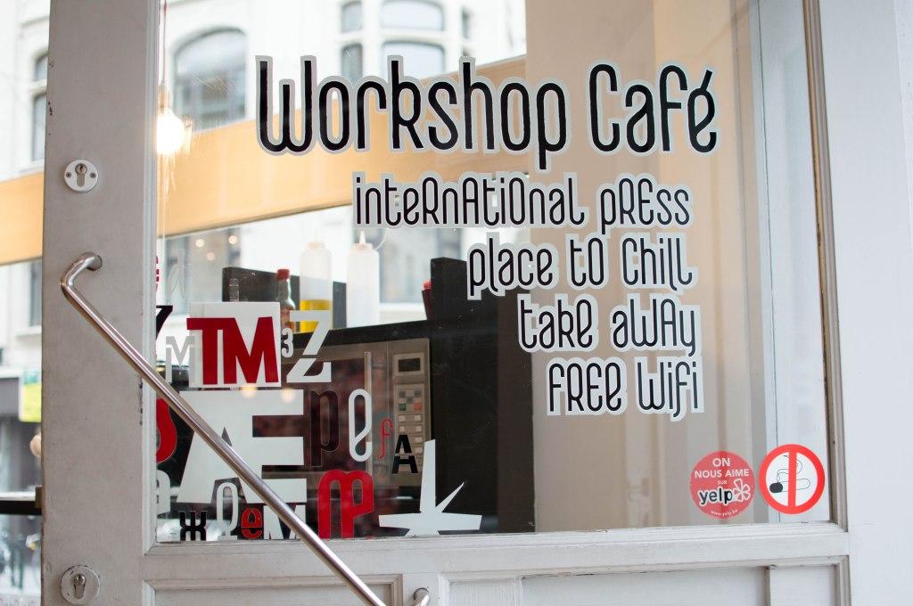 Workshop Cafe, Brussels, Belgium