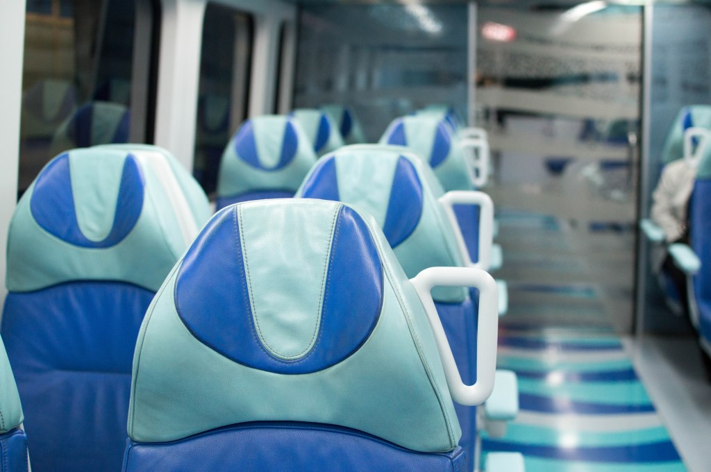 1st Class Carriage, Metro, Dubai, UAE