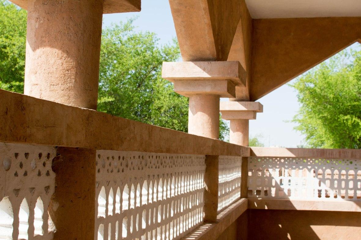 Balcony, Al Ain Palace Museum, Al Ain UAE