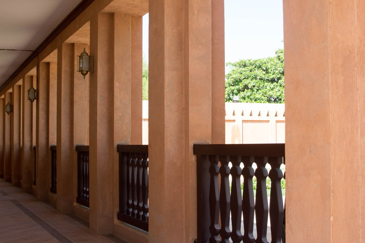 Balcony, Al Ain Palace Museum, Al Ain, UAE