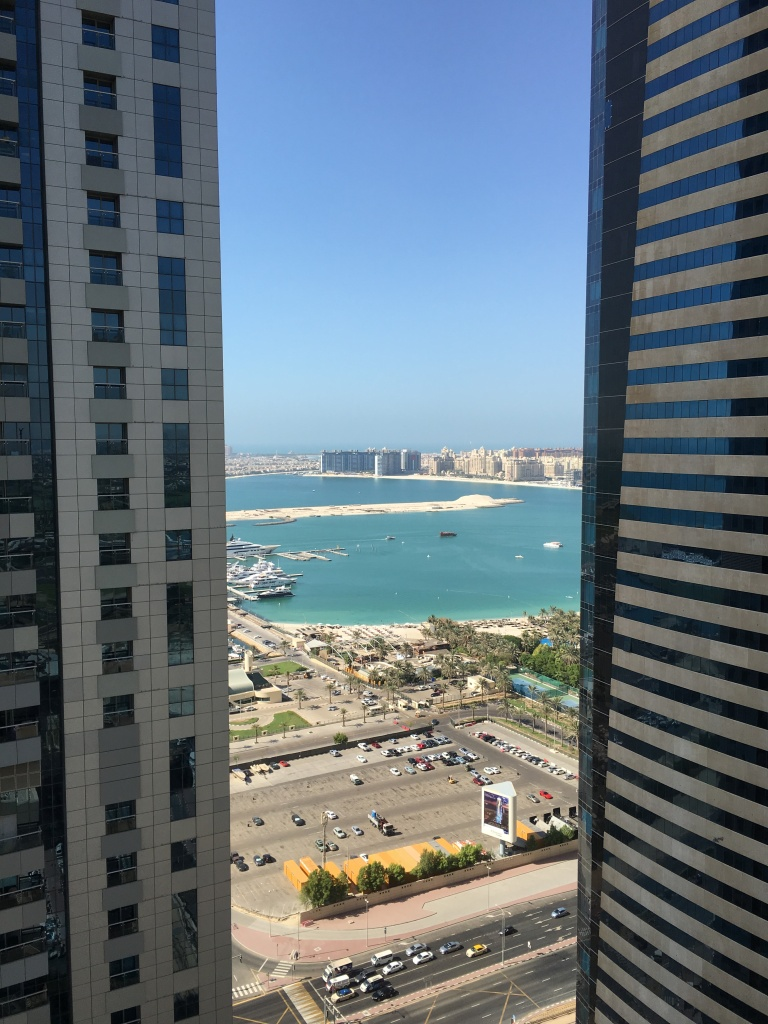 Balcony View, Palm Jumeriah, Dubai, UAE