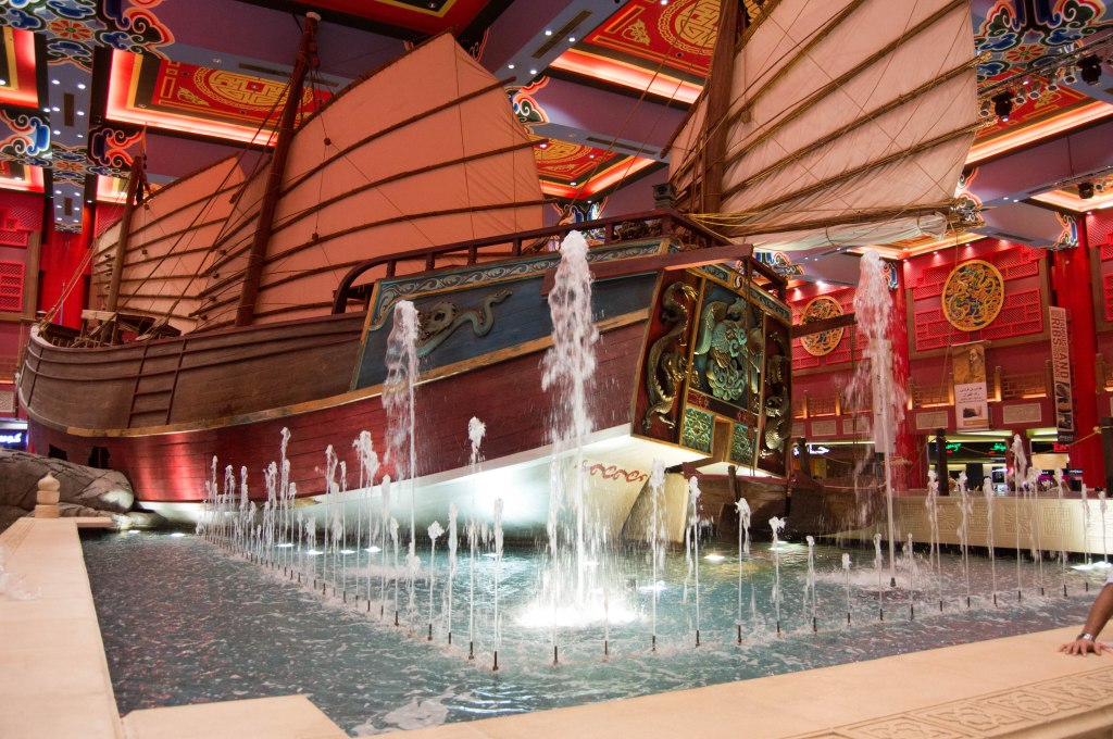 Big Boat Display, China Court, Ibn Battuta Mall, Dubai, UAE