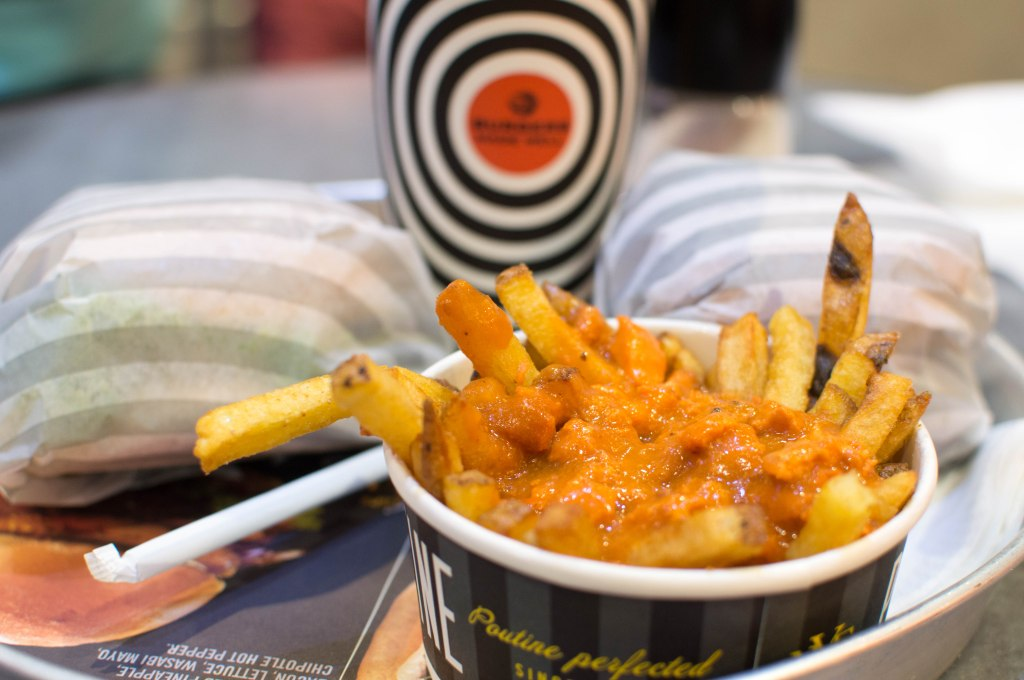 Butter Chicken Fries, South St Burger, Ibn Battuta Mall, Dubai, UAE