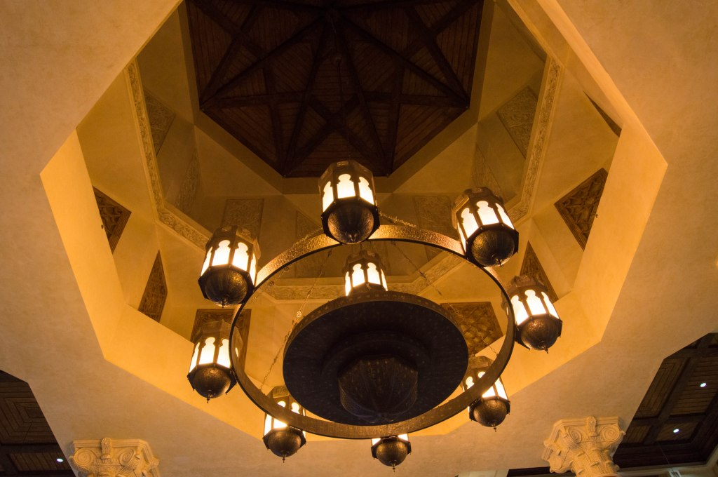 Ceiling Lighting, Andalusia Court, Ibn Battuta Mall, Dubai, UAE