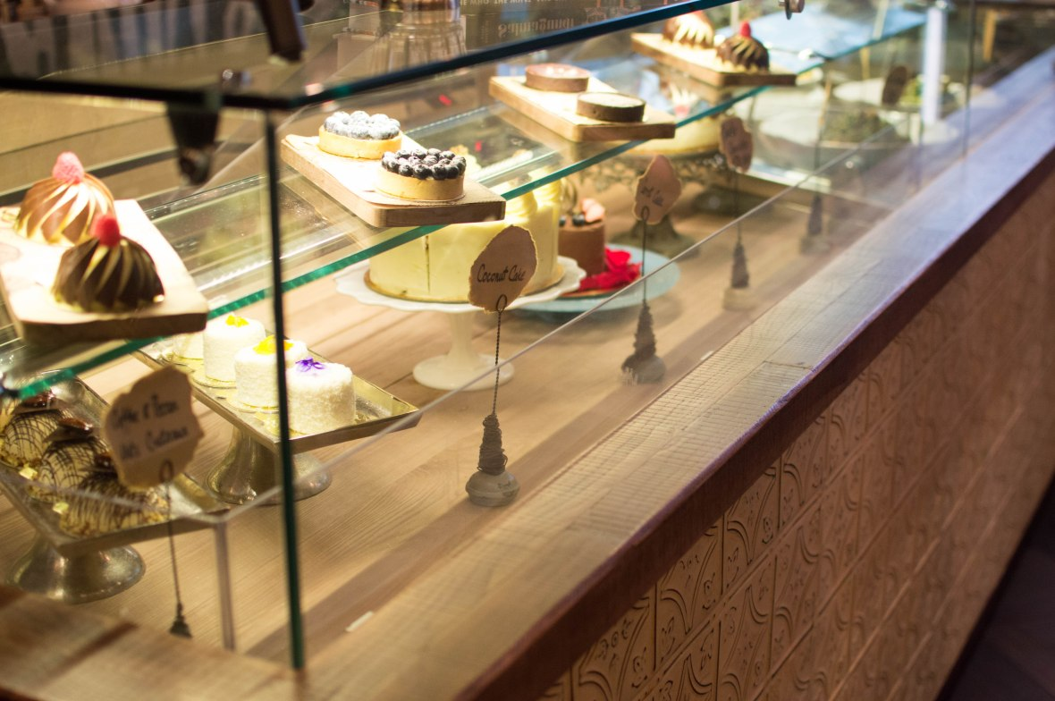 Desserts Display, Slider Station, Dubai, UAE