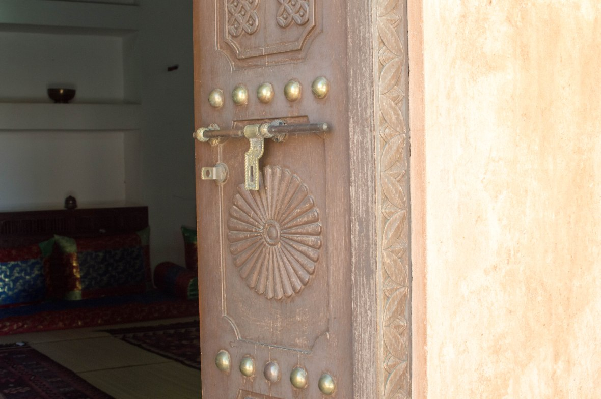 Doorway, Al Ain Palace Museum, Al Ain, UAE