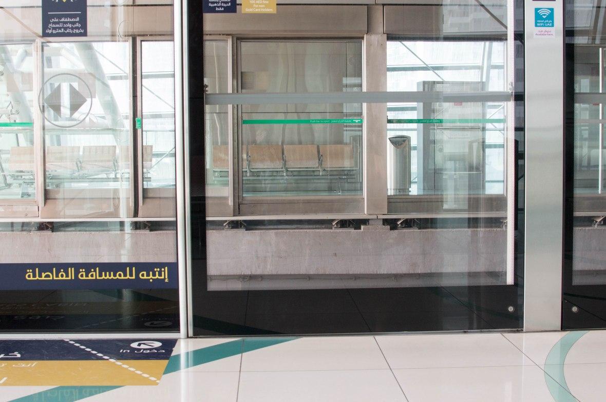Dubai Marina Metro, Dubai, UAE