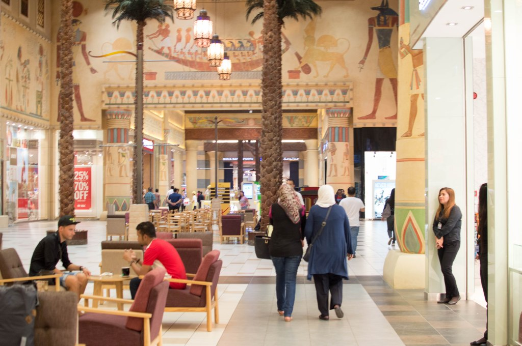 Egypt Court, Ibn Battuta Mall, Dubai, UAE