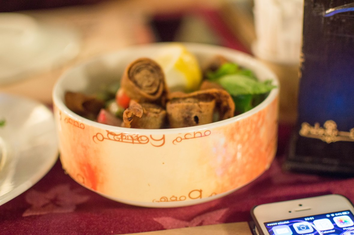 Fatoush Salad, Reem Al Bawadi, Dubai Marina. UAE