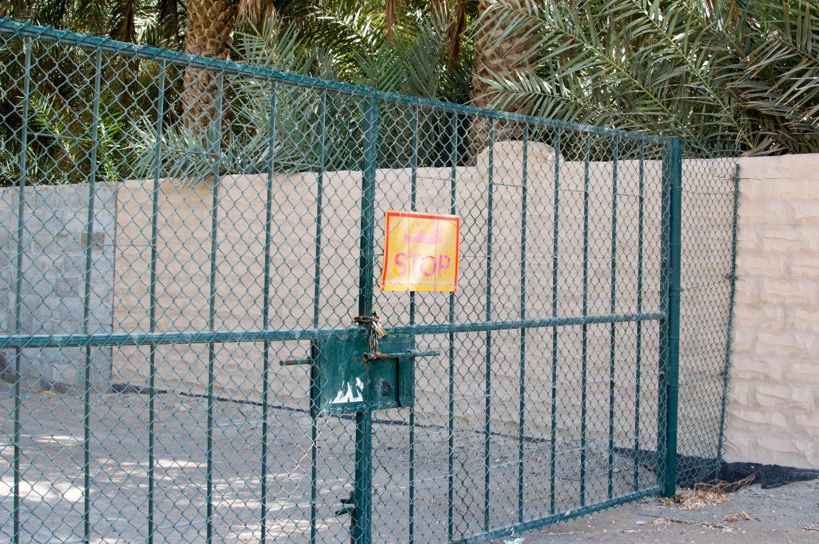 Fence, Al Ain Oasis, Al Ain, UAE