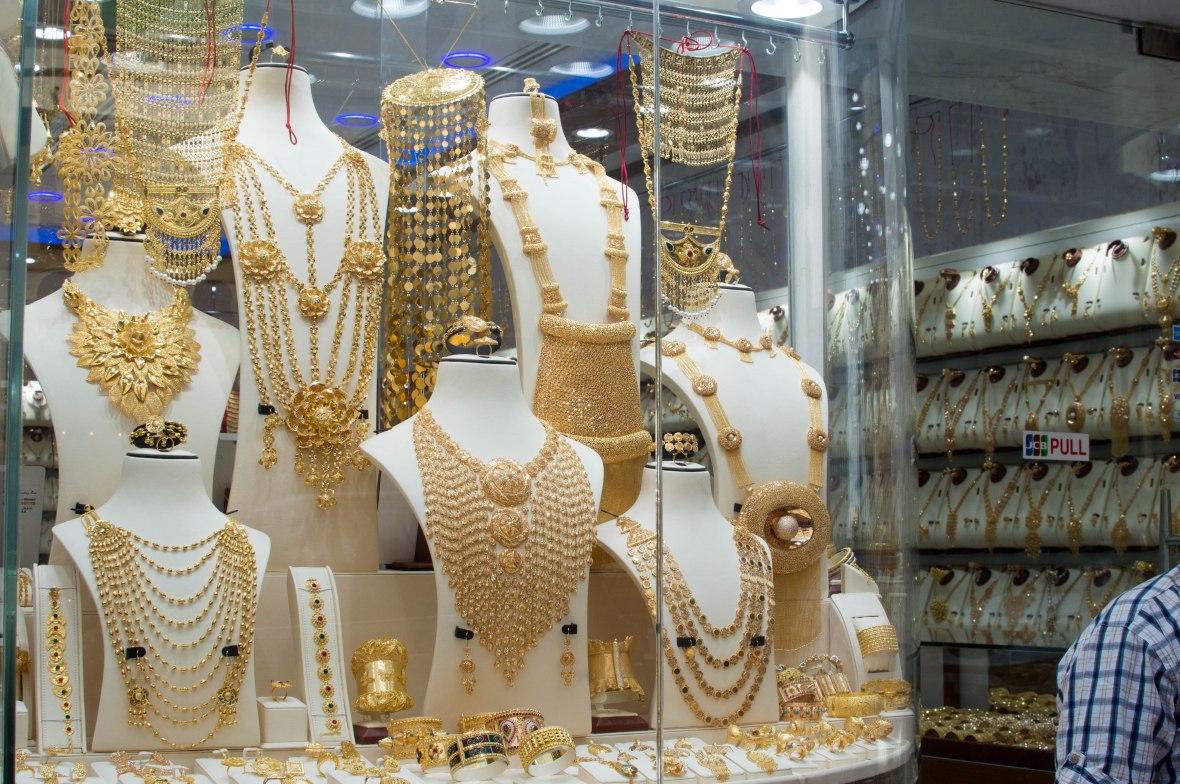 Gold Necklaces, Deira, Dubai, UAE