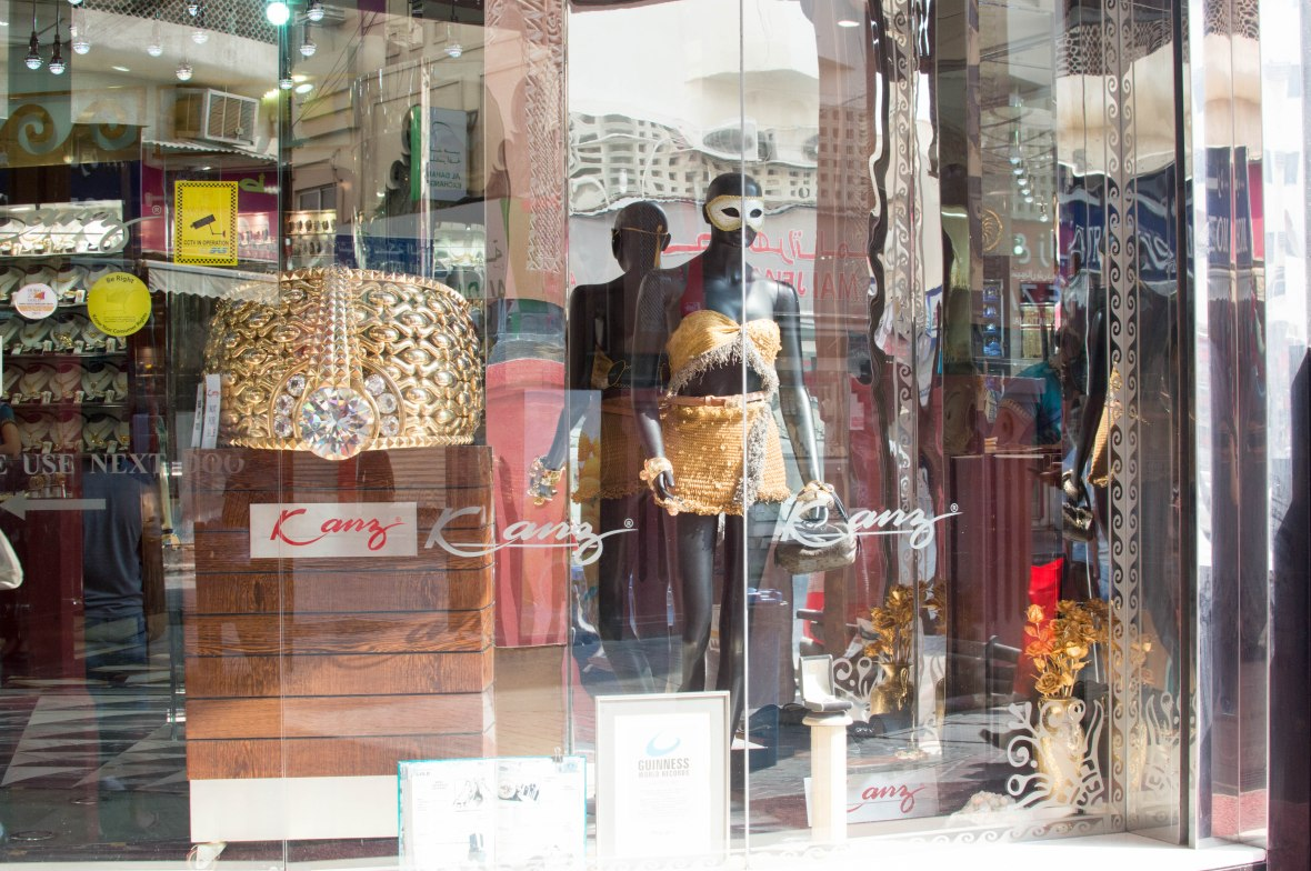 Gold Ring & Dress, Deira, Dubai, UAE