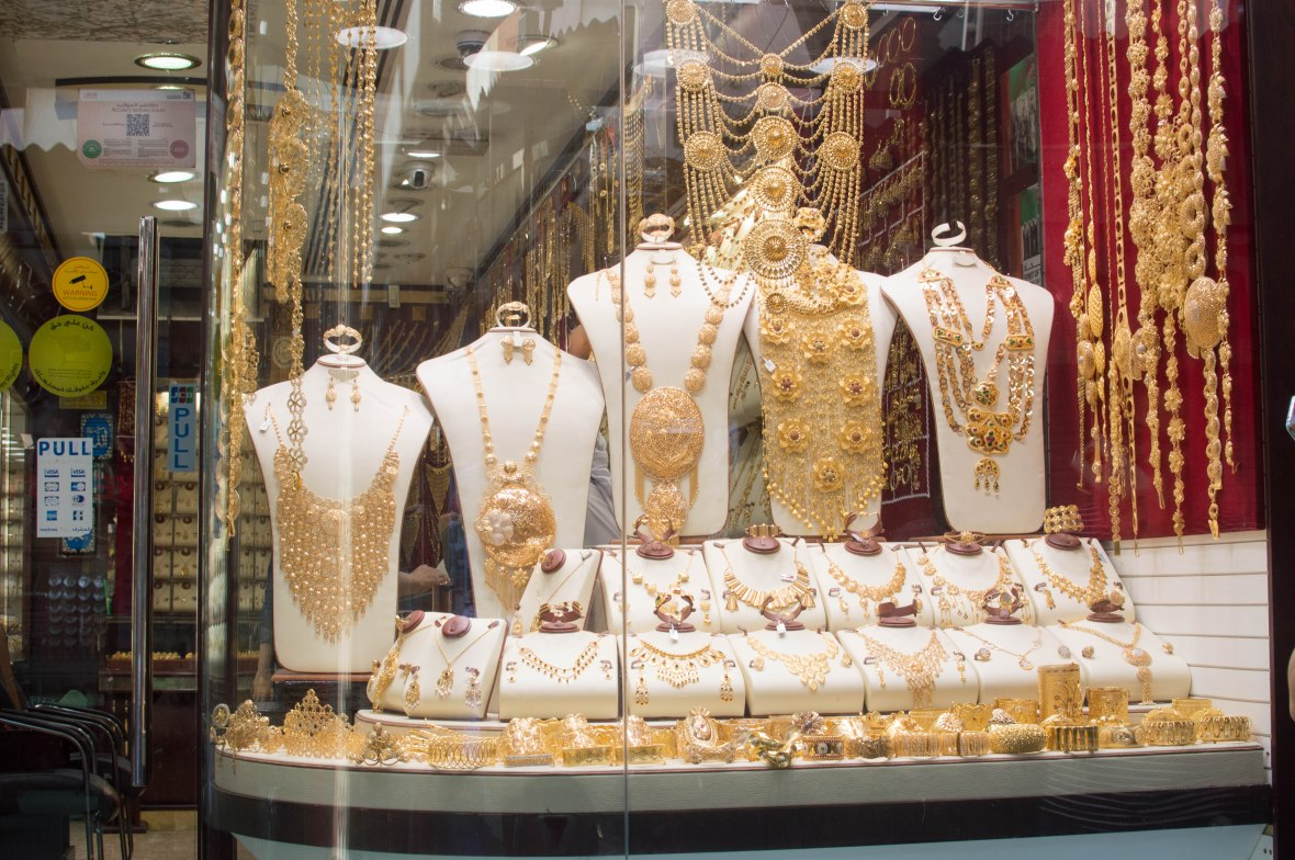 Gold Window Display, Deira, Dubai, UAE