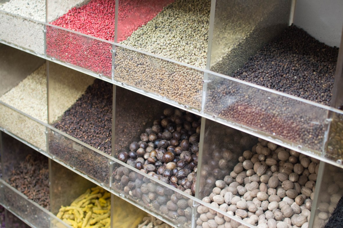 Herbs And Spices, Spice Souk, Dubai, UAE