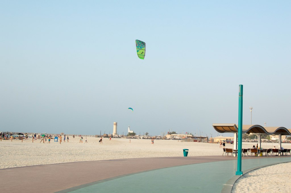 Kite Flying, Kite Beach, Dubai, UAE