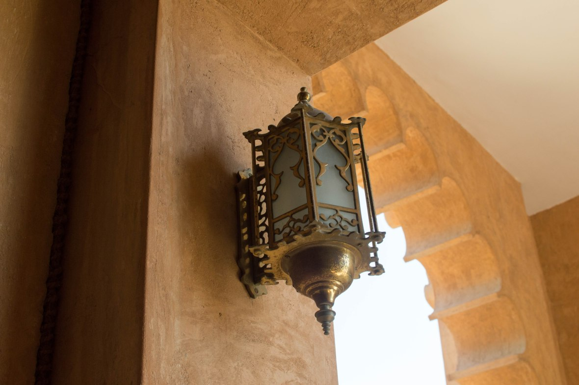 Lamp, Al Ain Palace Museum, Al Ain, UAE