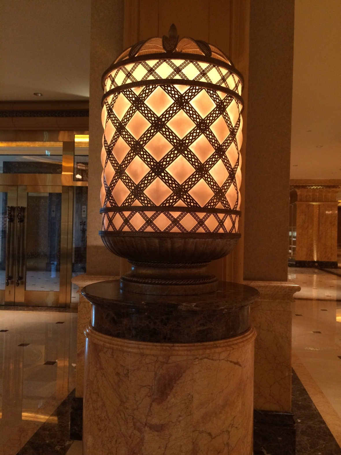 Lights, Emirates Palace Hotel, Abu Dhabi, UAE