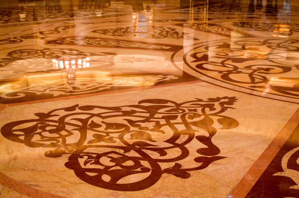 Marble Floors, Emirates Palace Hotel, Abu Dhabi, UAE
