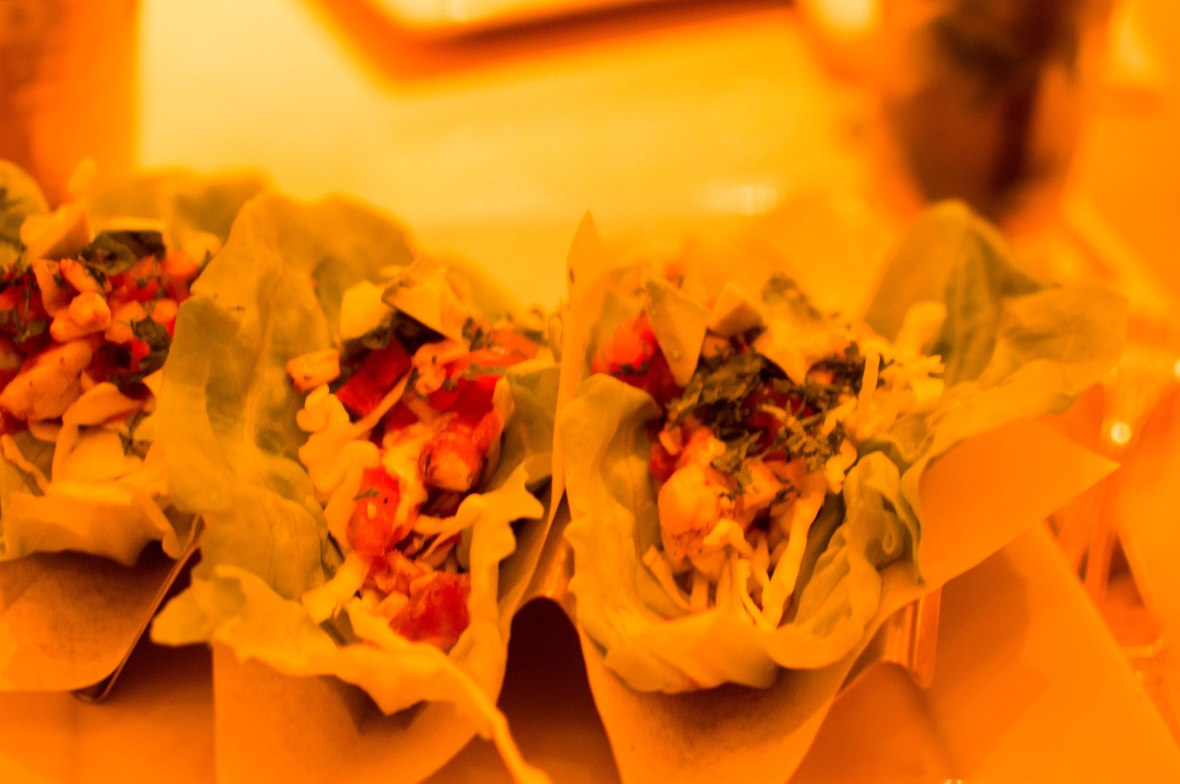 Mexican Chicken Lettuce Wrap Tacos, The Cheesecake Factory, JBR, Dubai, UAE