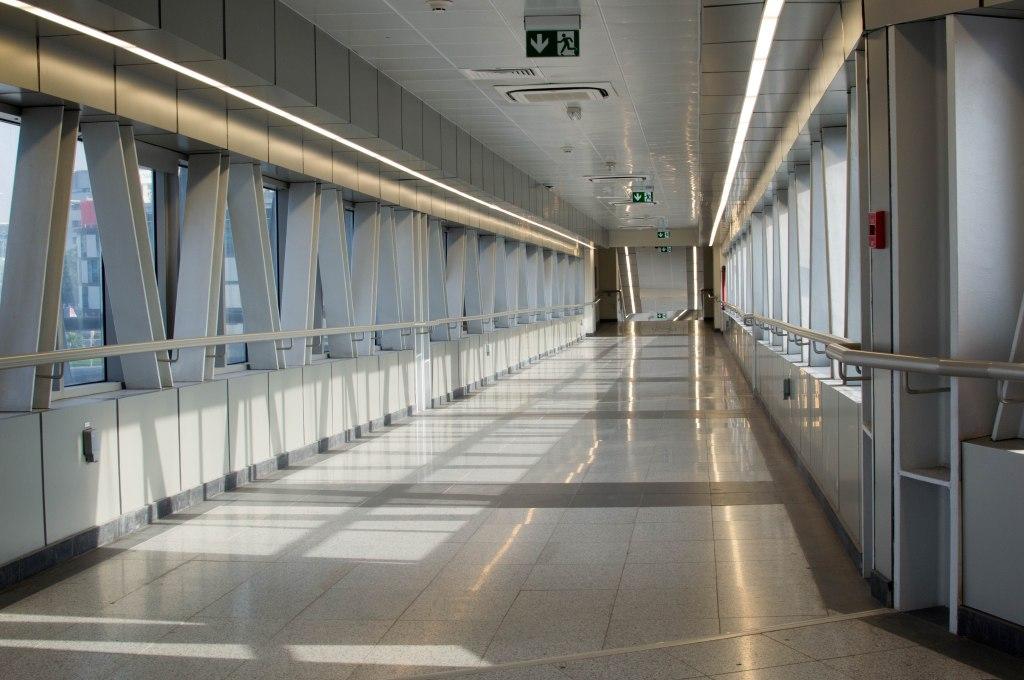 Monorail Corridor, Dubai, UAE