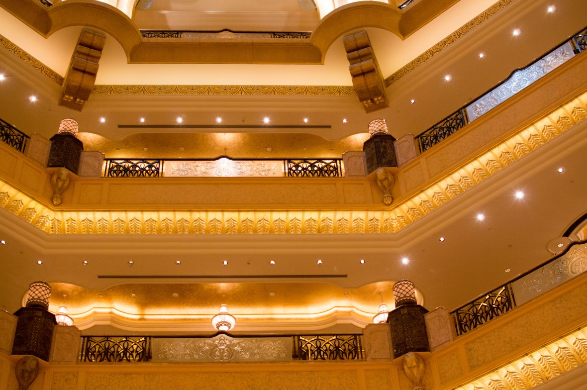 Multiple Floors, Emirates Palace Hotel, Abu Dhabi, UAE