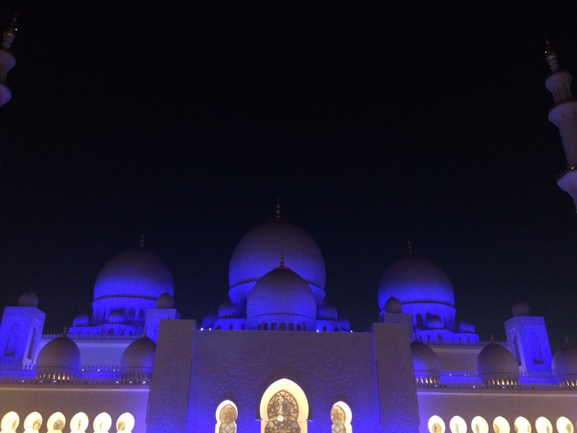 Night Time, Sheikh Zayed Grand Mosque, Abu Dhabi, UAE (2)