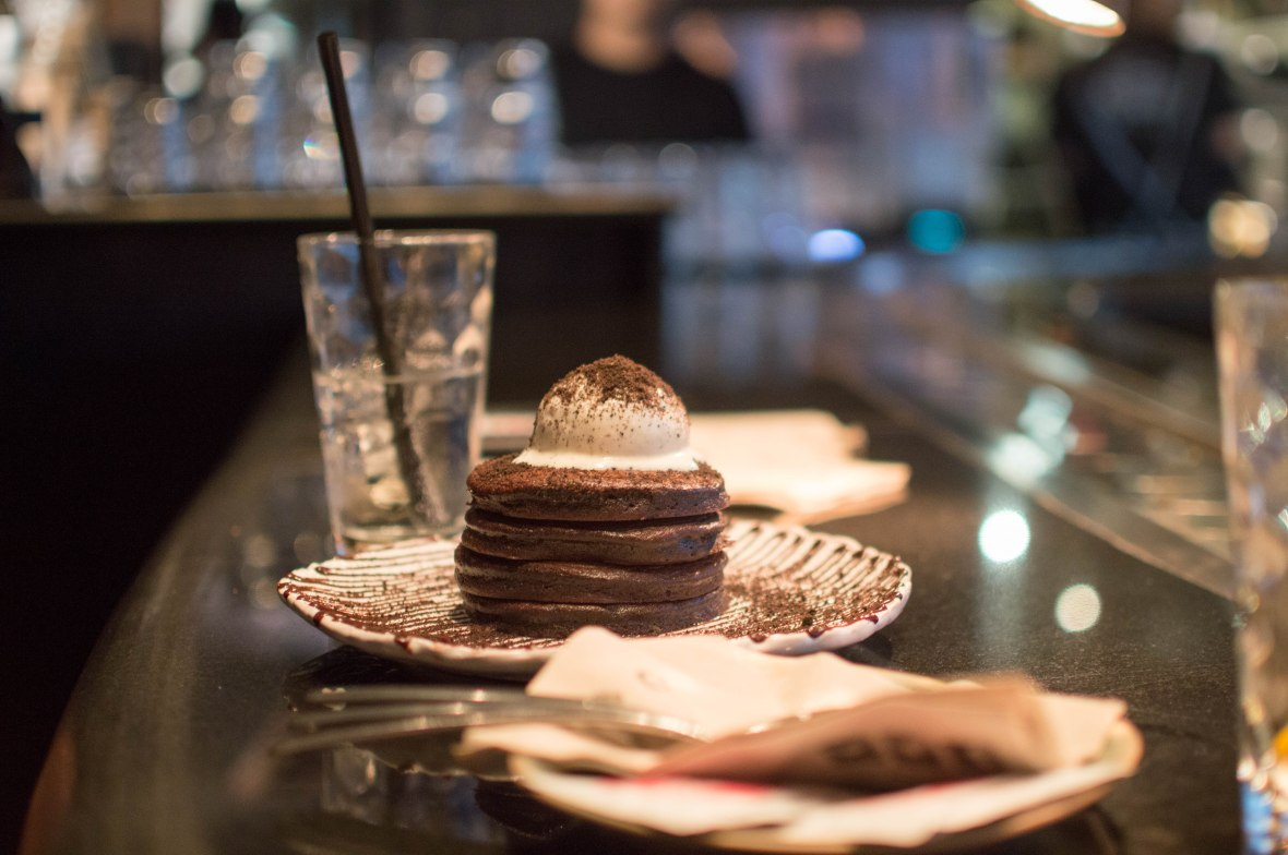 Oreo Midnight Pancakes, Slider Station, UAE