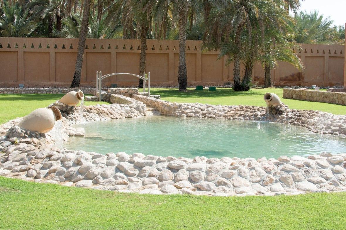 Pond, Al Ain Palace Museum, Al Ain UAE