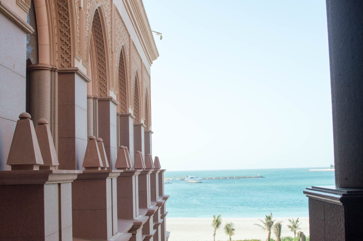 Private Beach, Emirates Palace Hotel, Abu Dhabi, UAE