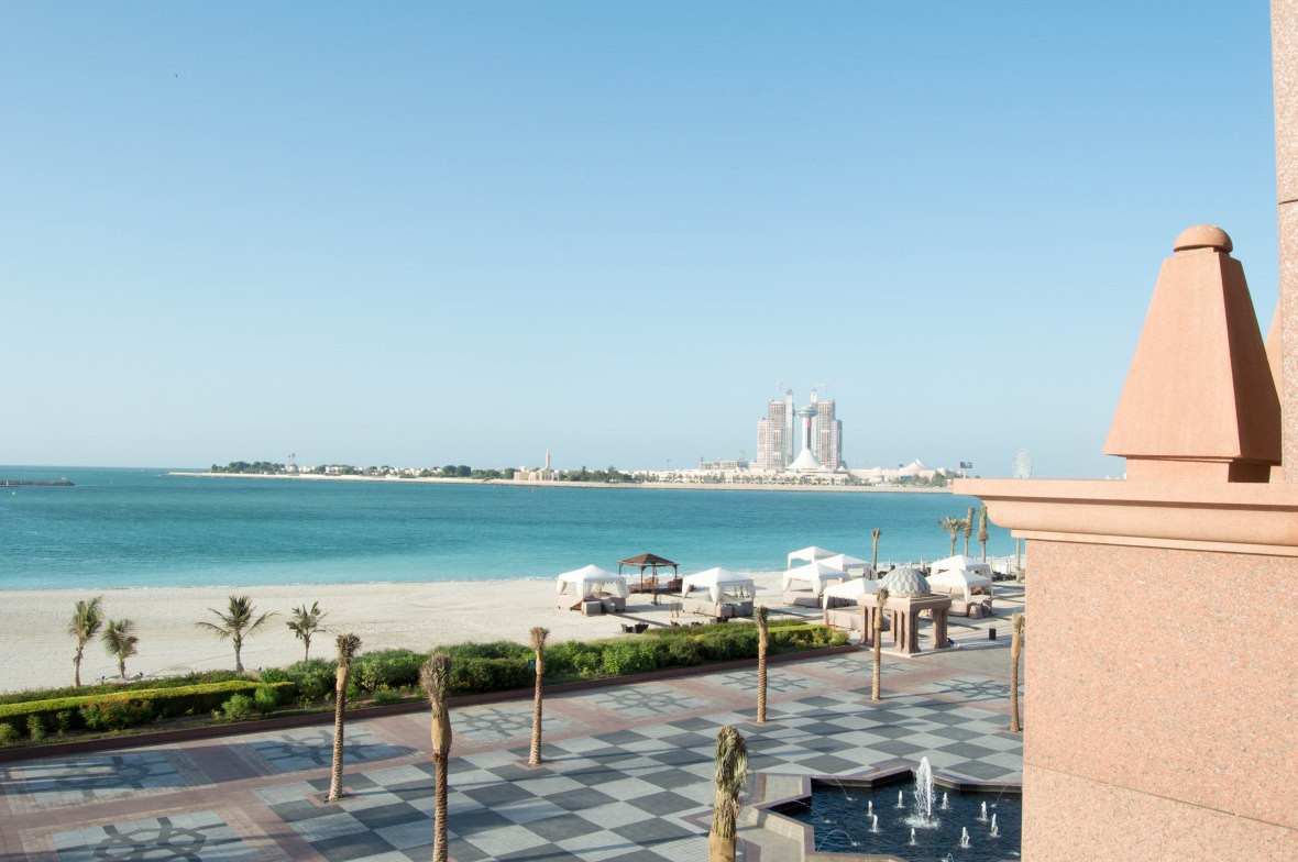Private Beach View, Emirates Palace Hotel, Abu Dhabi, UAE (2)