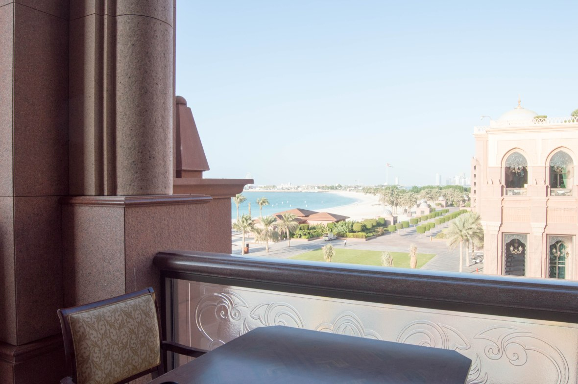 Private Beach View, Emirates Palace Hotel, Abu Dhabi, UAE