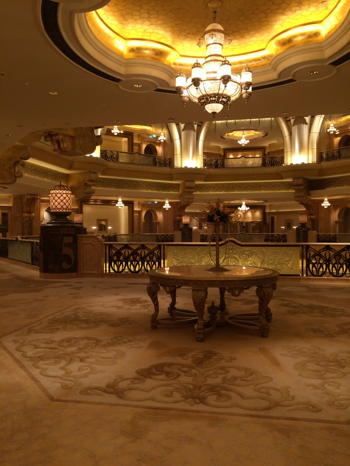Second Floor, Emirates Palace Hotel, Abu Dhabi, UAE