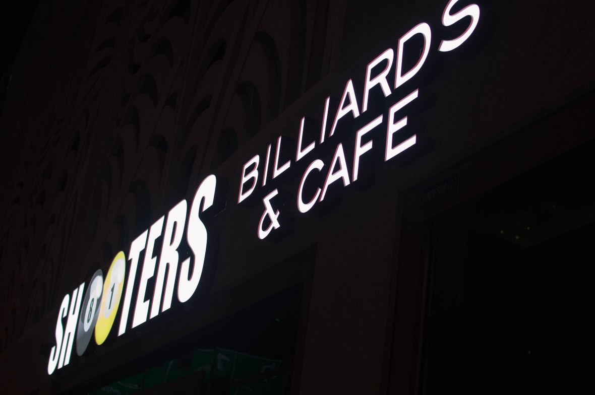 Shooters Billiards & Cafe, Dubai, UAE