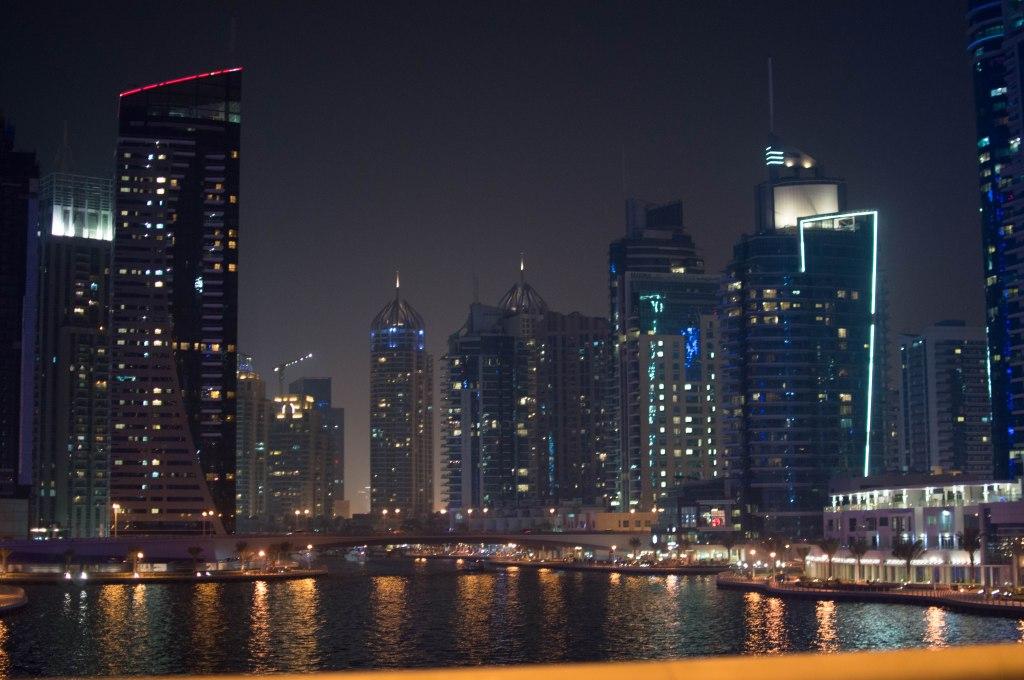 Skyscrapers, Dubai Marina, Dubai, UAE