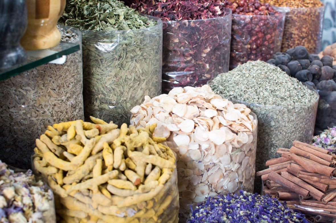 Spices And Herbs, Spice Souk, Deira, UAE