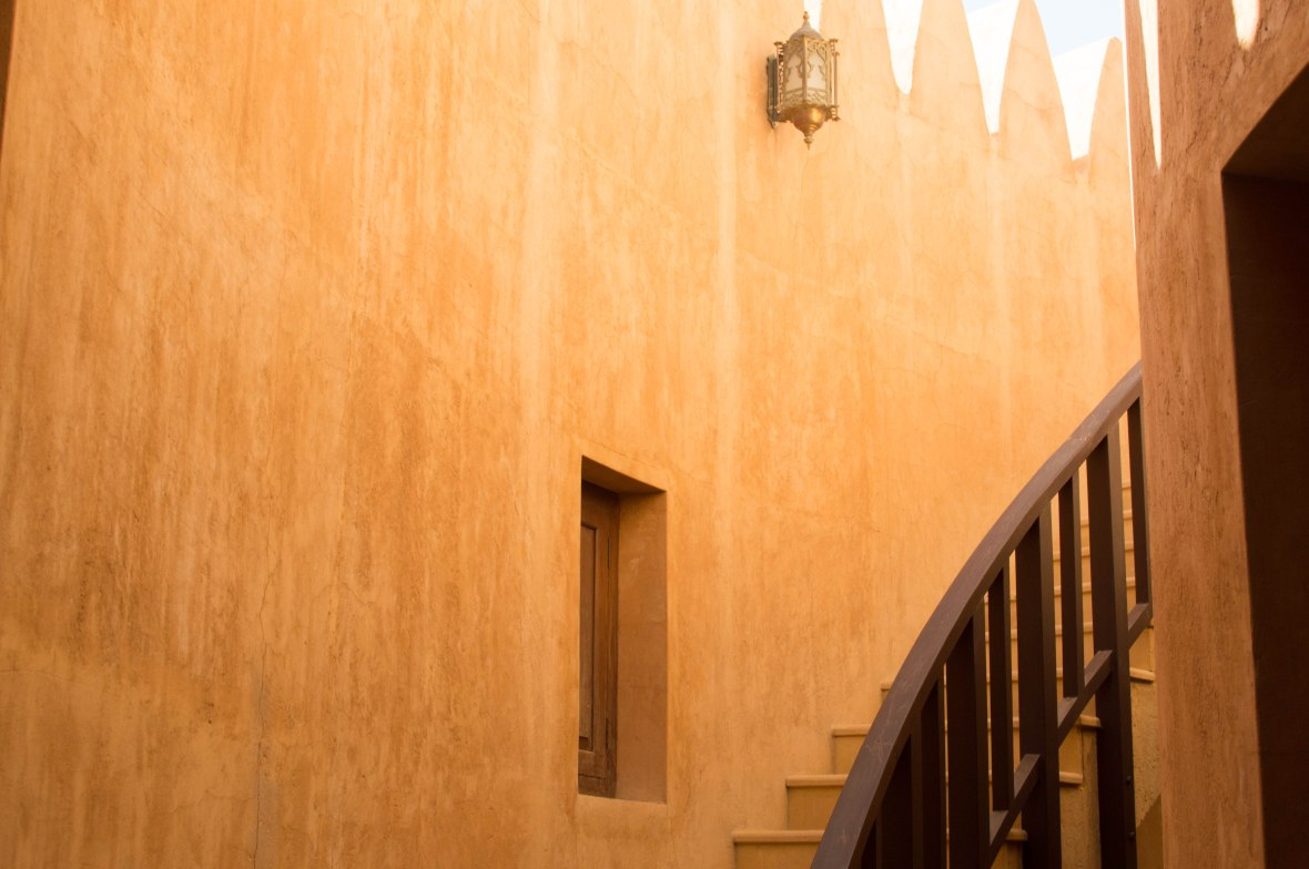 Stairwell, Al Ain Palace Museum, Al Ain, UAE