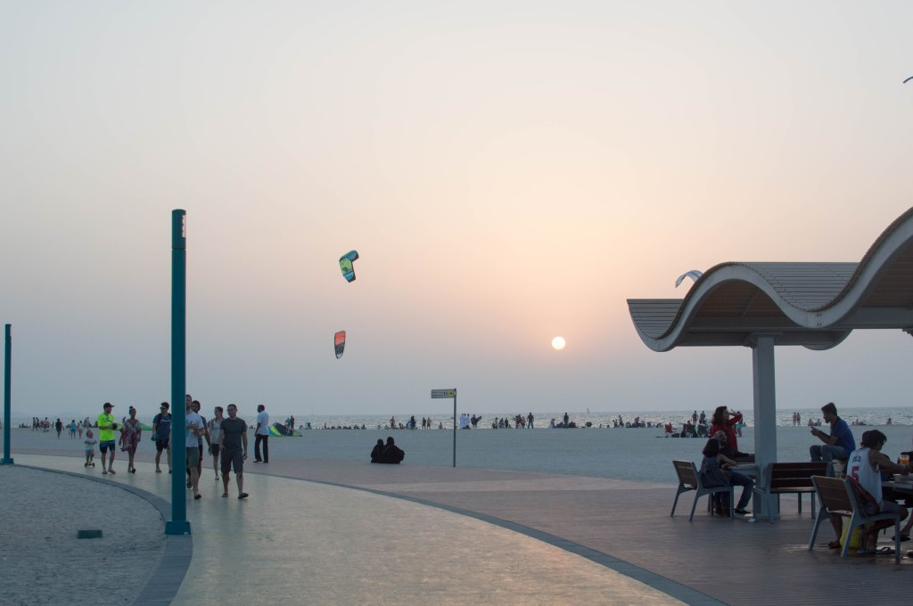 Sundown, Kite Beach, Dubai, UAE