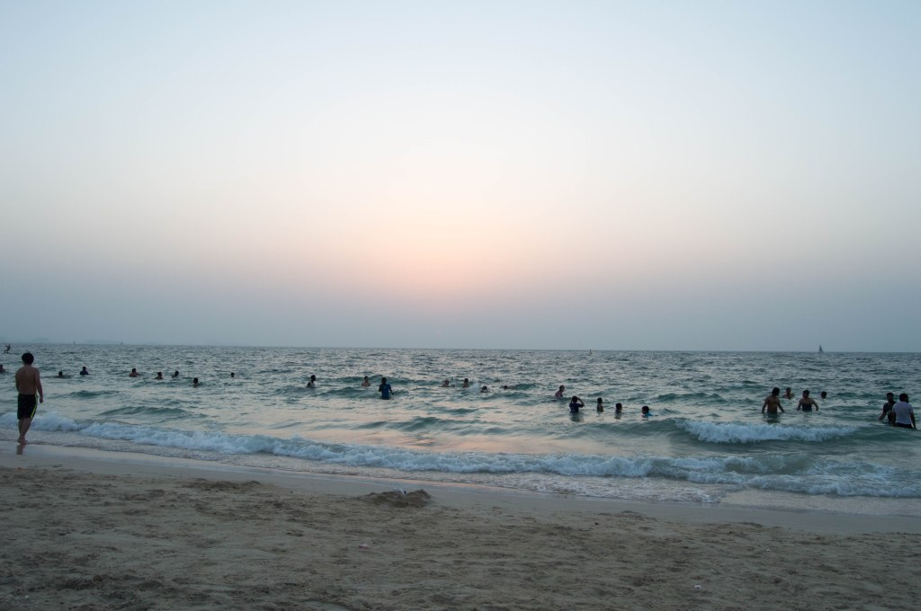 Sunset At Kite Beach, Dubai, UAE