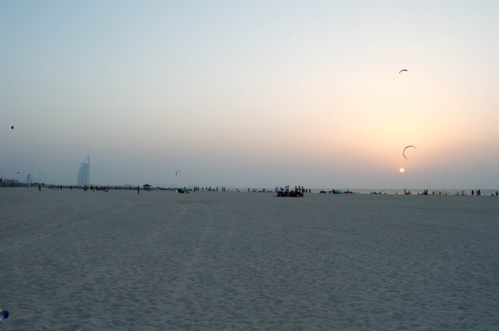 Sunset, Kite Beach, Dubai, UAE