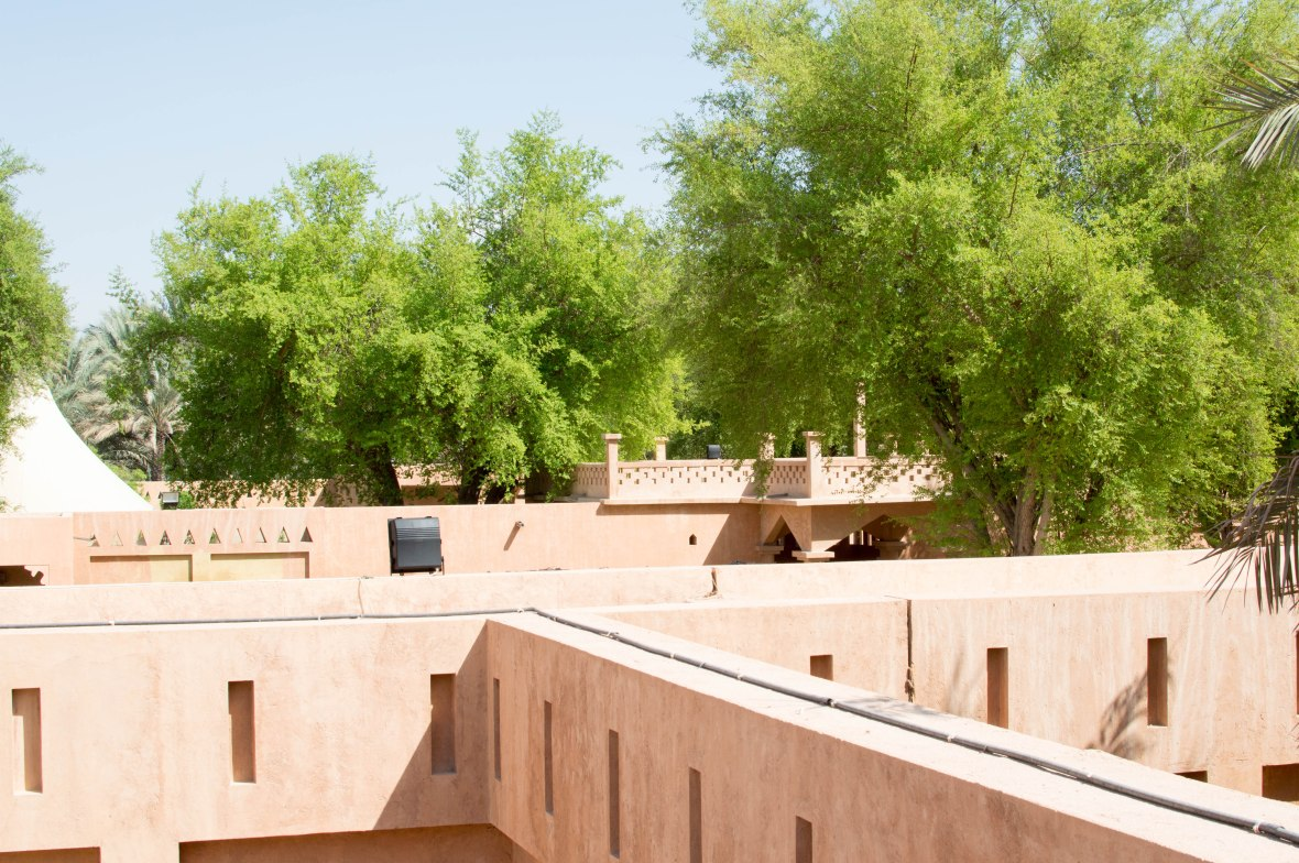 View, Al Ain Palace Museum, Al Ain, UAE