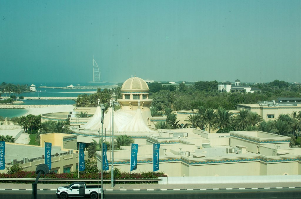 View From Monorail, Dubai, UAE