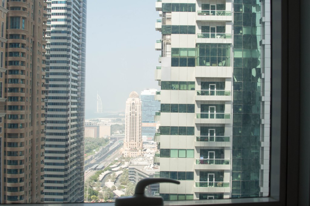 View From The Room, Torch Tower, Dubai Marina, Dubai, UAE