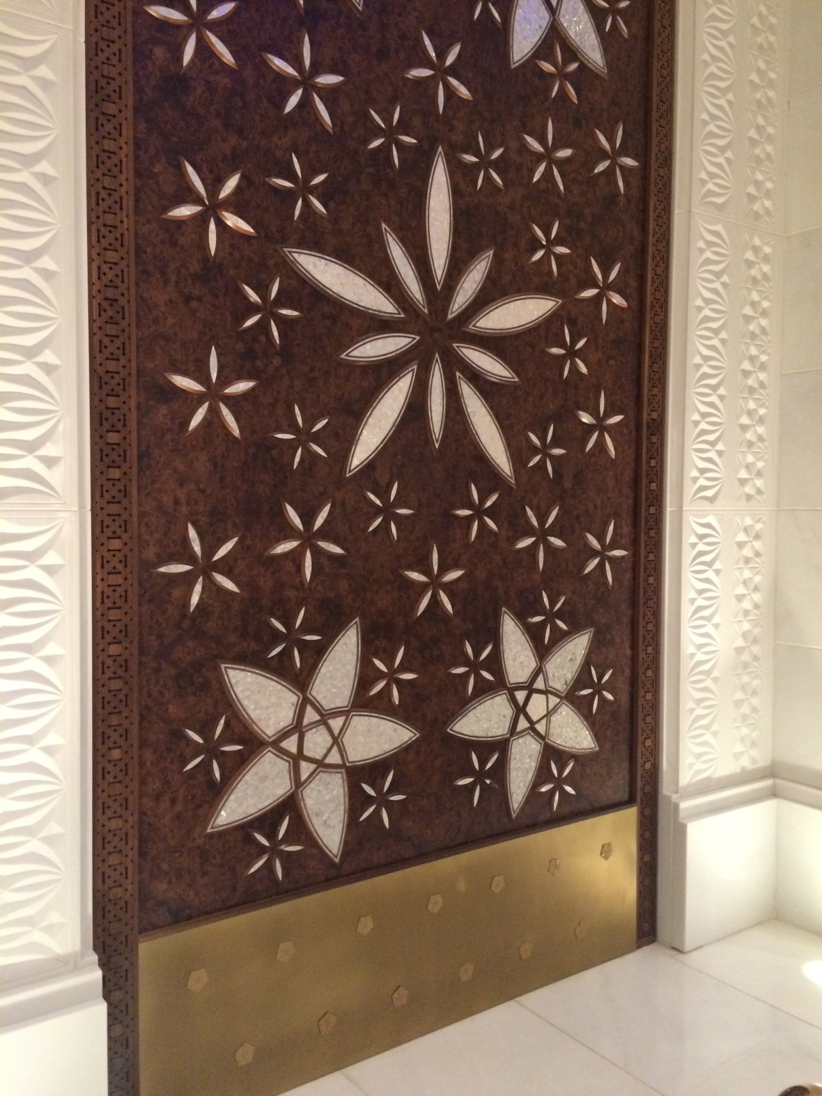 Wooden Doors, Sheikh Zayed Grand Mosque, Abu Dhabi, UAE