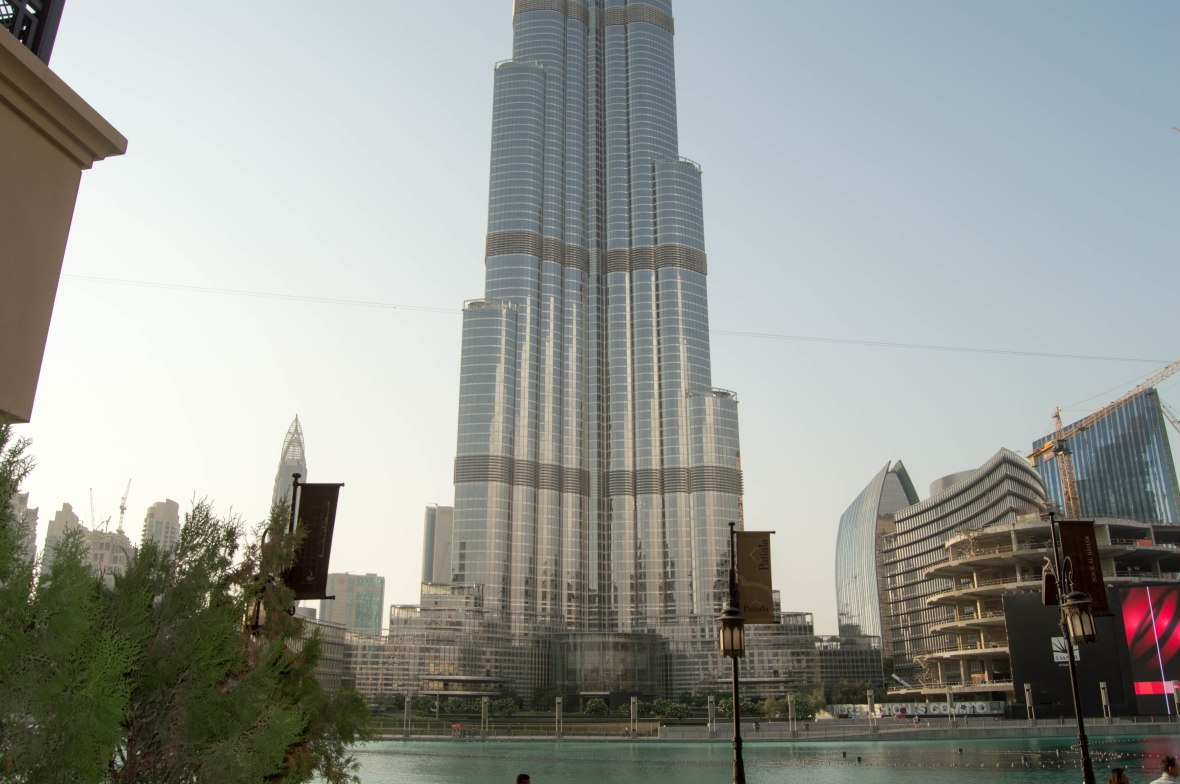 Bottom Of Burk Khalifa, Baker & Spice, Souk Al Bahar, UAE