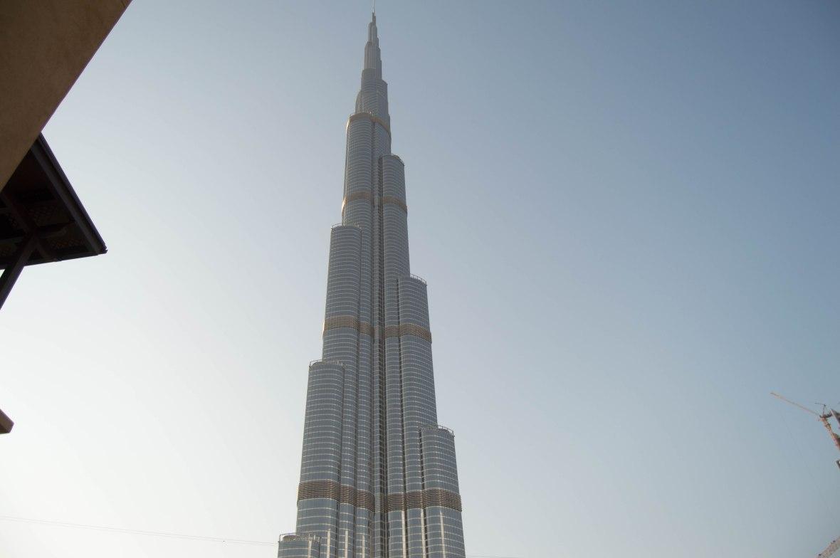 Burj Khalifa From Souk Al Bahar, Dubai, UAE