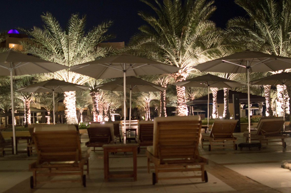 Deck Chairs, Hilton Resort, Ras Al Khaimah, UAE