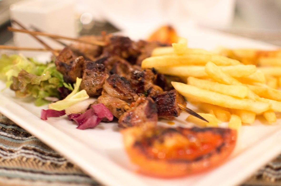 Lamb Kebab,  Al Bahar, Hilton Resort, Ras Al Khaimah, UAE