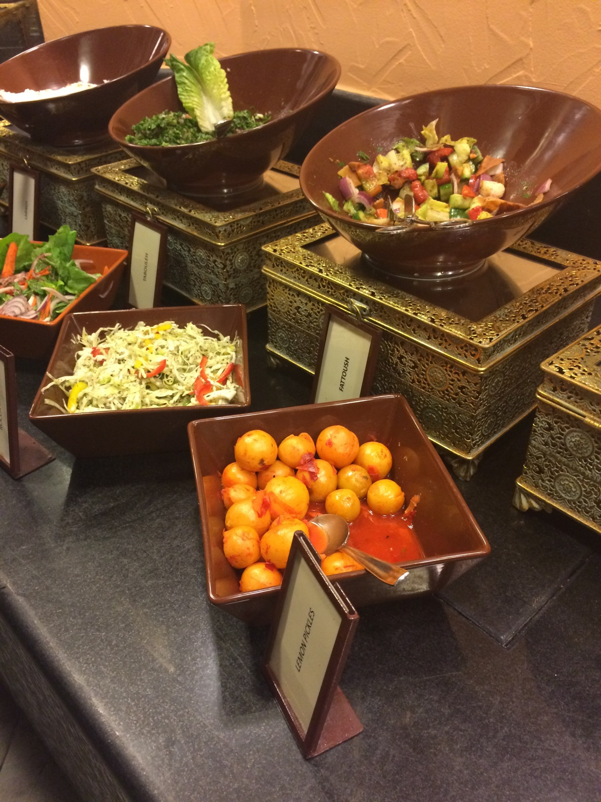 Salads And Starters, Al Bahar, Hilton Resort, Ras Al Khaimah, UAE