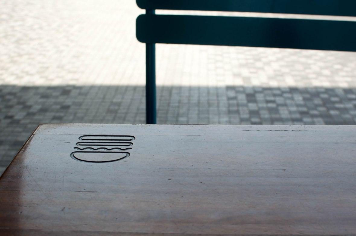 Shake Shack Logo, Jumeirah Beach Residence (JBR), Dubai, UAE