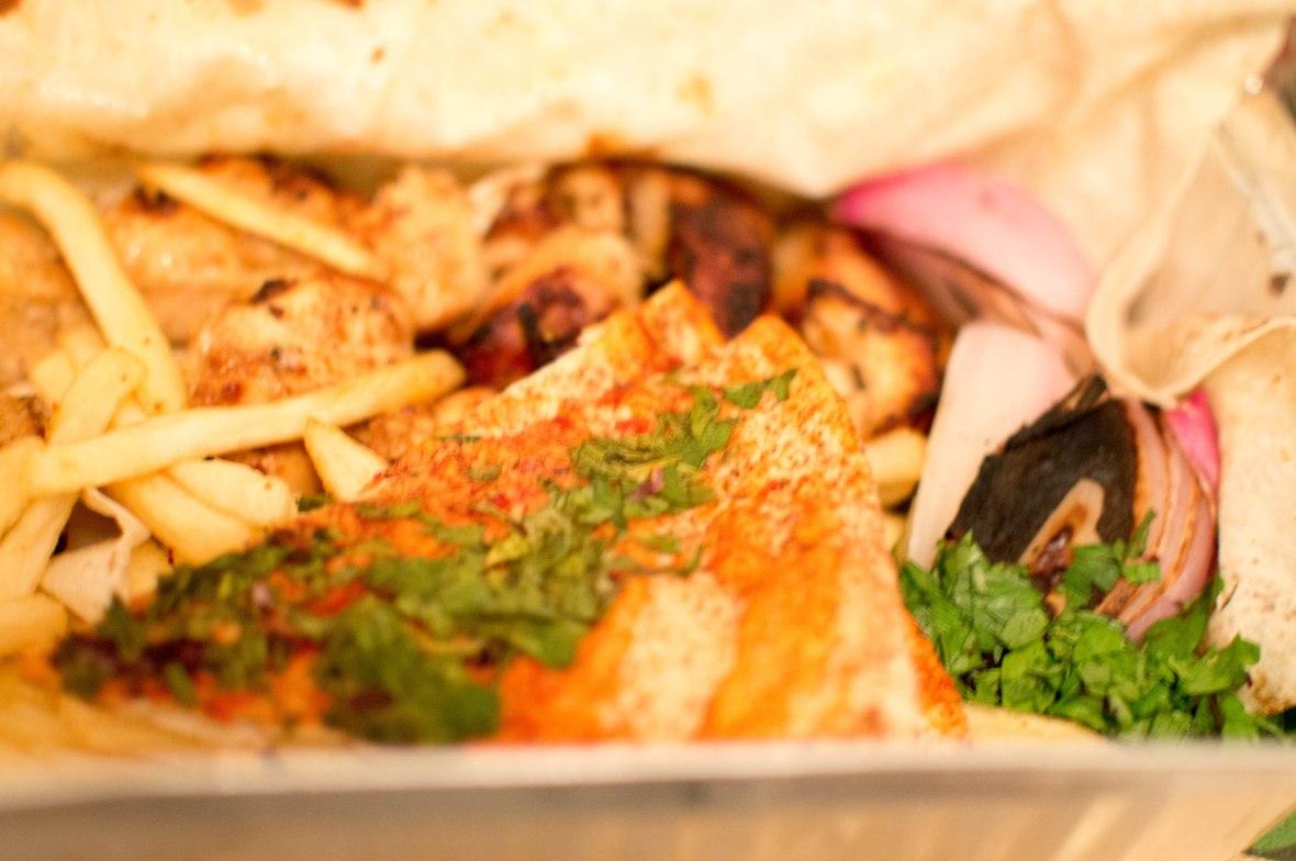 Shish Taouk, Shami Restaurant, Dubai Marina, UAE